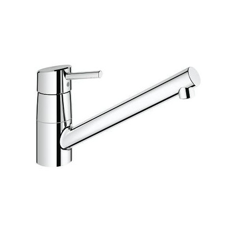 grohe concetto kitchen faucet island base mixer 32659001 ohm sink swivel spout
