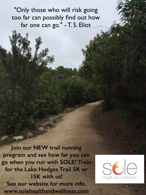 LAKE HODGES TRAIL RUNNING PROGRAMS​
