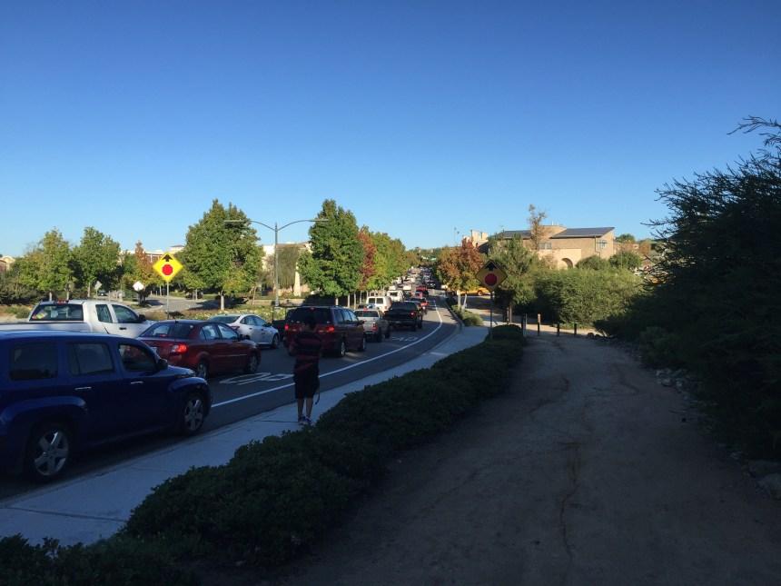 San Elijo Middle Traffic