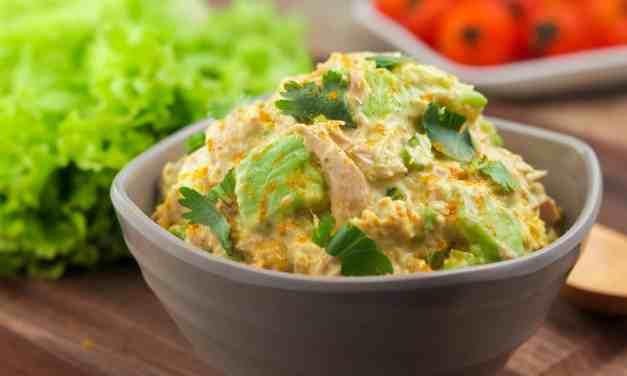 Curry Spiked Tuna and Avocado Salad