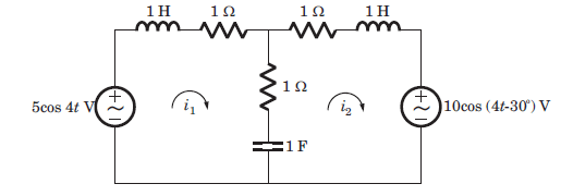 Sinusoidal Steady State Analysis Questions and Answers