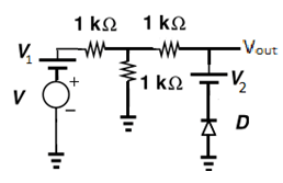 Parallel Clipper Circuit with Reference Voltage Questions