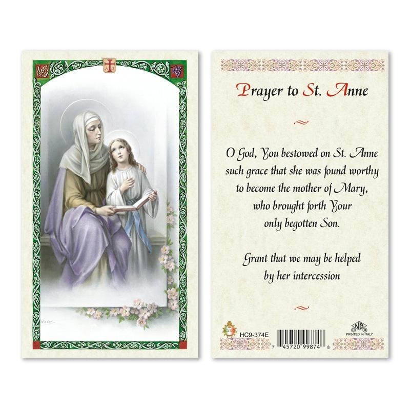 ST ANNE  PRAYER TO 25PKG  San Francis