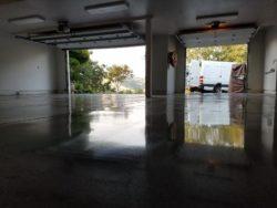 Alamo, Ca Polished Garage Floor