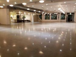 Google Campus Polished Concrete