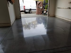 Polished Garage Floor San Francisco