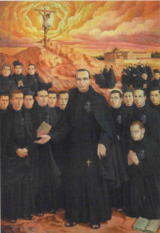 blaženi Nikefor od Jezusa in tovariši - duhovnik, redovniki in mučenci