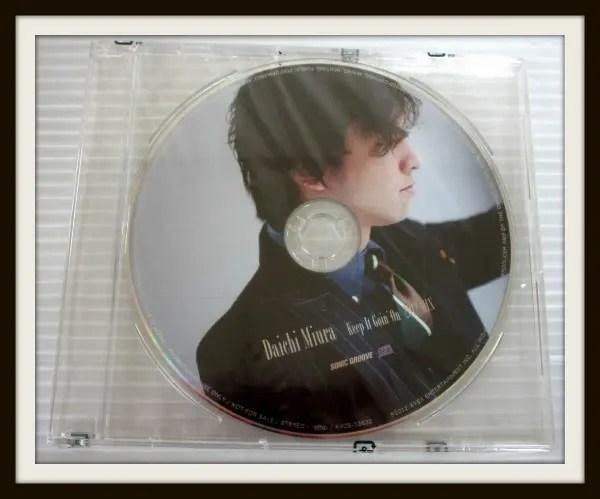 三浦大知 特典CD【Keep It Goin'On -2012 Mix-】