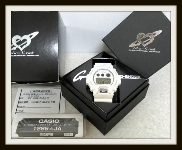 CASIO G-SHOCK Gショック 倉木麻衣モデル Mai-K DW-6900LV