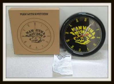 MAN WITH A MISSION 壁掛け時計