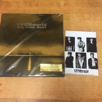 UVERworldのベストアルバム 「ALL TIME BEST」 完全生産限定盤