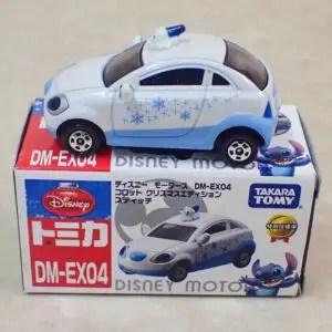 トミカ ディズニーモータース DM-EX04 コロット クリスマスエディション スティッチ 特別仕様車