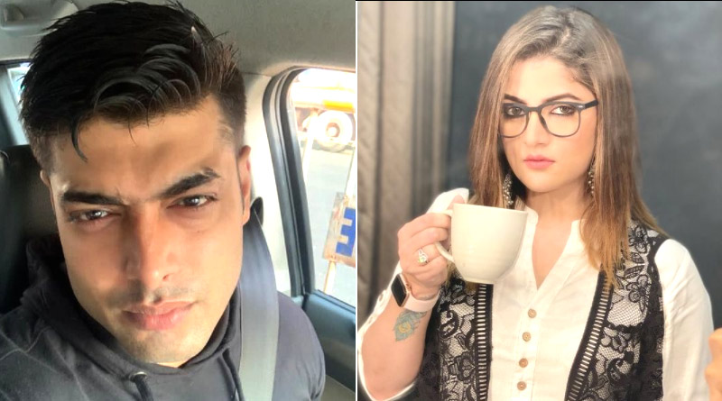 Has Srabanti Chatterjee and Roshan Singh just teased each other in Instagram story | Sangbad Pratidin