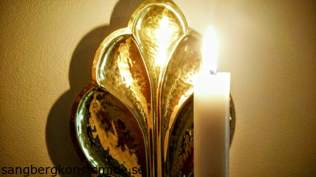 Lampett i mässing