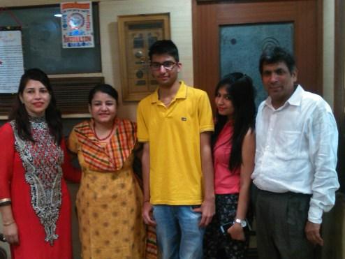 Yuraj Family & Sangeeta Khanna