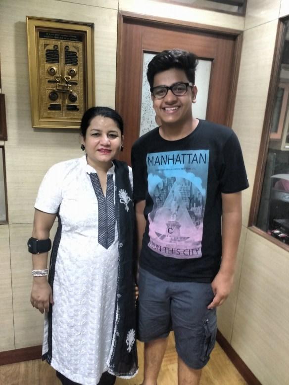 Dhruv Jaglan & Madam