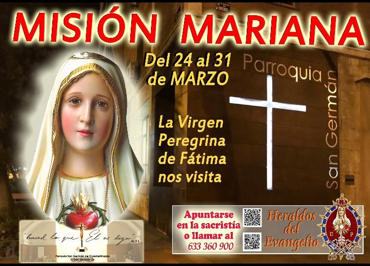 Nos visita la Virgen de Fátima