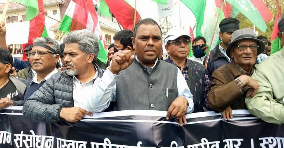 काठमाडौं मा सुनियो- जो हम से टकराएगा चुर चुर होजाएगा