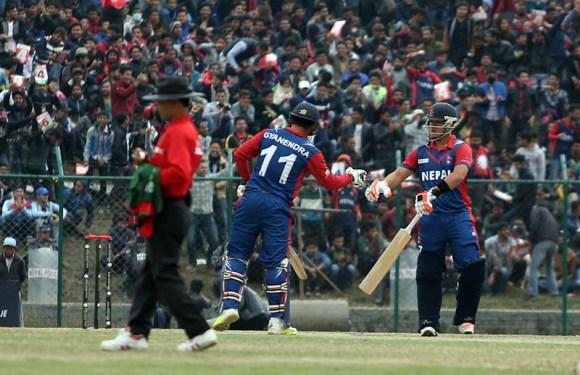विश्व क्रिकेट लिग च्याम्पियनसीपमा नेपाल केन्यासँग ५ विकेटले पराजित