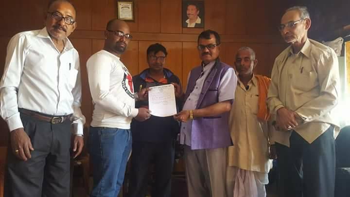 रामसपा युवक दस्ता बीरगंज नगर संयोजकमा विष्णु पटेल मनोनित