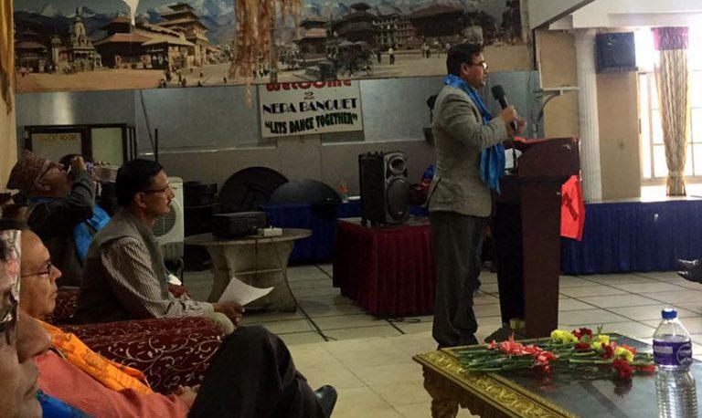 एमाले टुक्रा टुक्रा हुने संकेत, काठमाण्डौमा समानान्तर समिति गठन