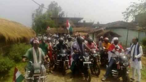 रौतहटमा पनि राजपा नेपालको दबाब मुलक बिशाल मोटरसाइकल रैली सम्पन्न