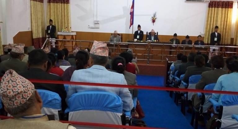 प्रदेशसभा १ को बैठकले कार्यव्यवस्था परामर्श समिति र नियमावली मस्यौदा समिति गठन