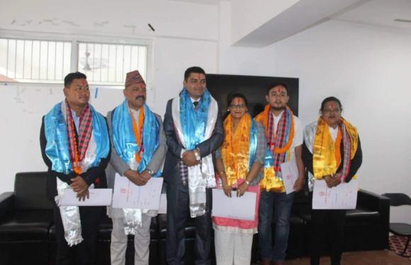 नेपालकै पहिलो खेलकुद बिकास परिषदको सदस्यसचिवमा सुर्यद्वारा पदभार ग्रहण