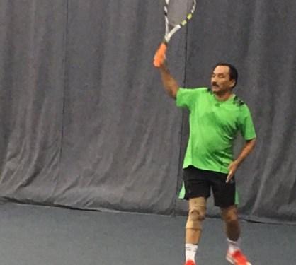 टेनिसका धेरै राम्रा खेलाडी राप्रपा अध्यक्ष थापा जितिरहेकै बेला छाडे खेल, यस्तो आयो समस्या
