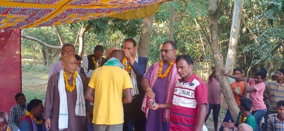राजगढमा कांग्रेस, नेकपा परित्याग गरि २०० ले गरे राजपा प्रबेस, र भने बल्ल थुना मुक्त भइयो
