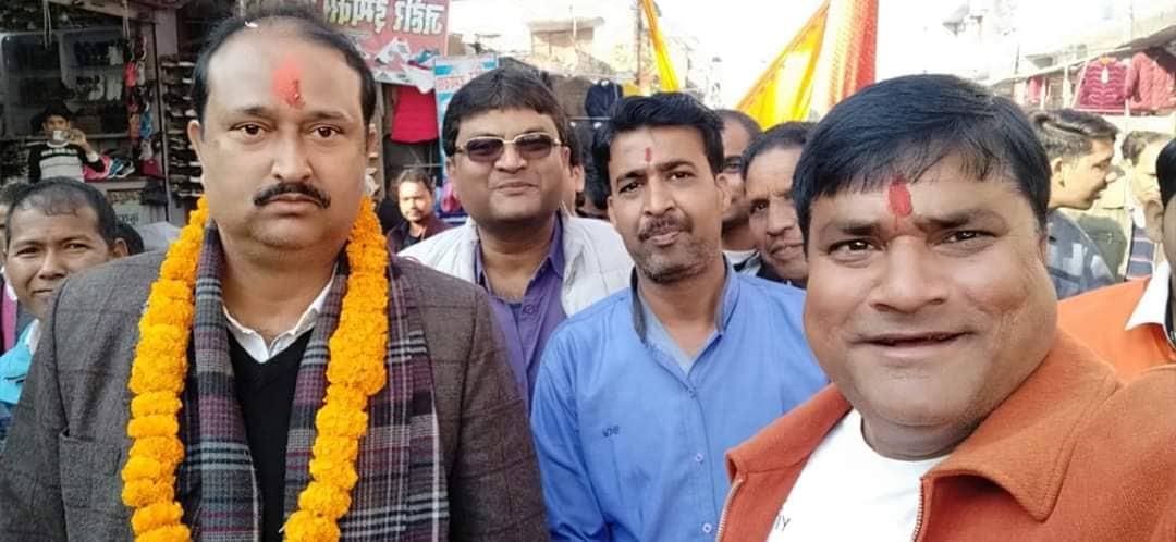 कृष्णनगर देखी पद यात्री श्री खाटू श्याम दर्शन गर्नका लागी भारतको राजस्थान प्रस्थान