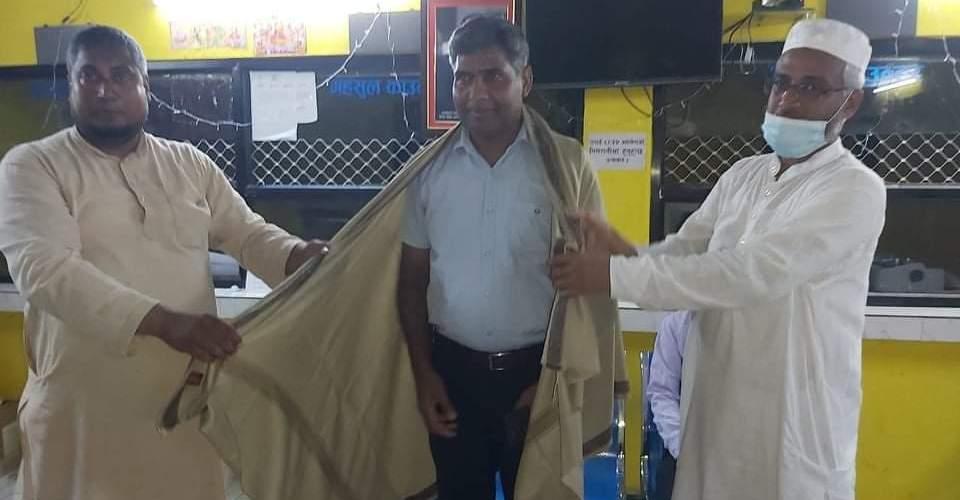 प्राधिकरणकाे ३६औं वार्षिकोत्सवमा मदरसा संघ नेपालद्वारा केन्द्र प्रमुख सम्मानित