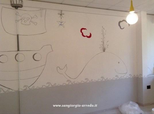 decoro, trompe oeil,pittura decorativa, insieme del decoro