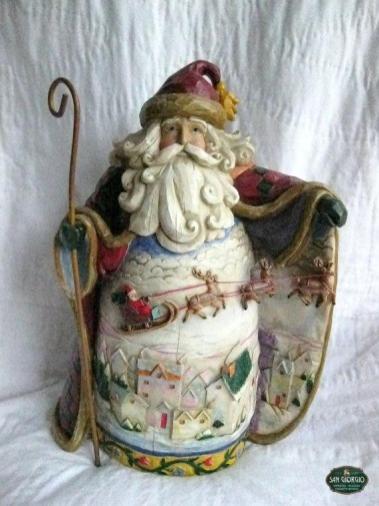 Babbo Natale tipico dello stile Russo