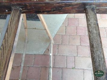 scala-estauro-porta asciugamani in legno-legno-scala a pioli-restaurare una scala