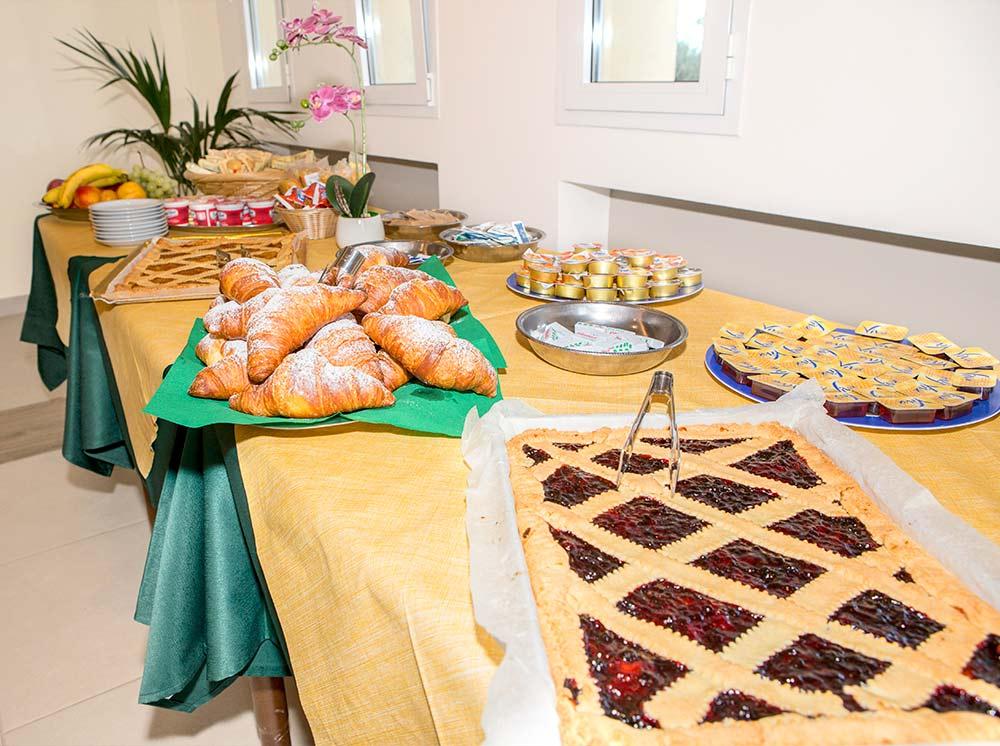 colazione mediterranea casa San Giuseppe