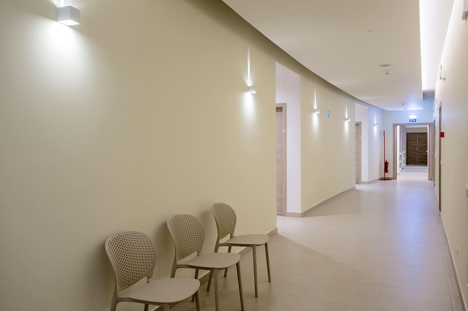 Corridoio interno Casa San Giuseppe