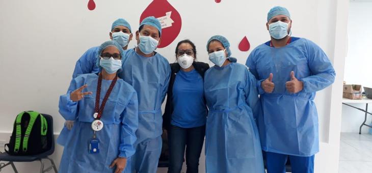 Done sangre y salve vidas durante la pandemia por COVID-19
