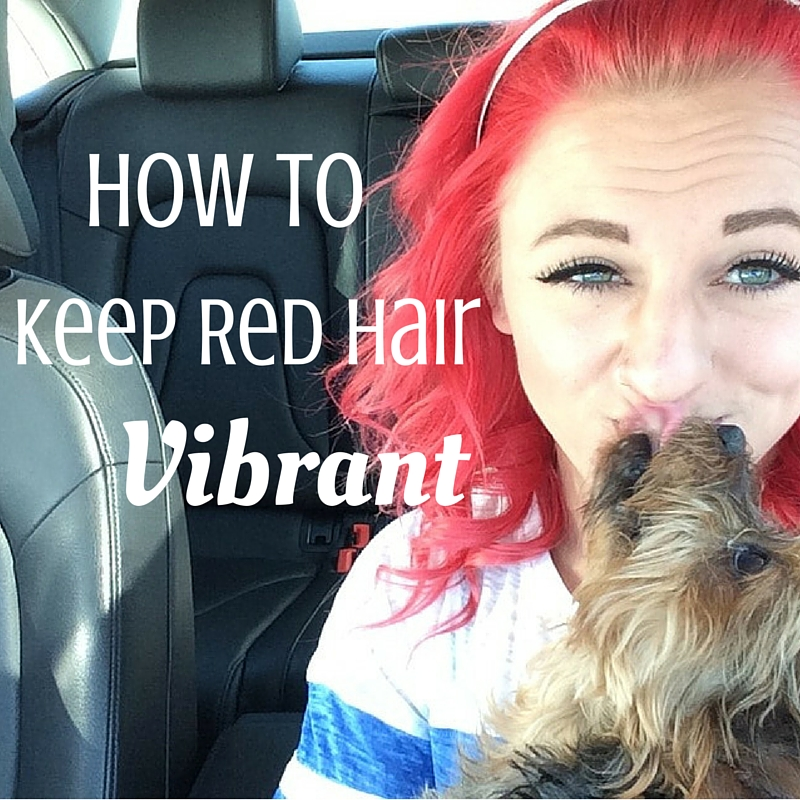 How To Keep Red Hair Vibrant