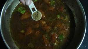 Paruppu rasam - jeera powder