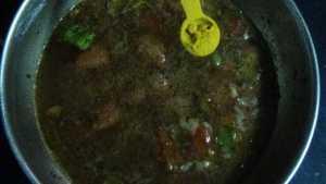 Paruppu rasam - turmeric