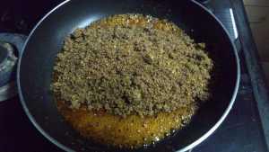 Ellu urundai - sesame ground nut powder