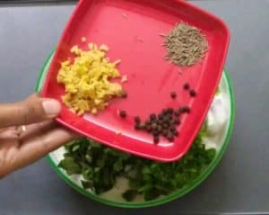 medhu vadai - ingredients