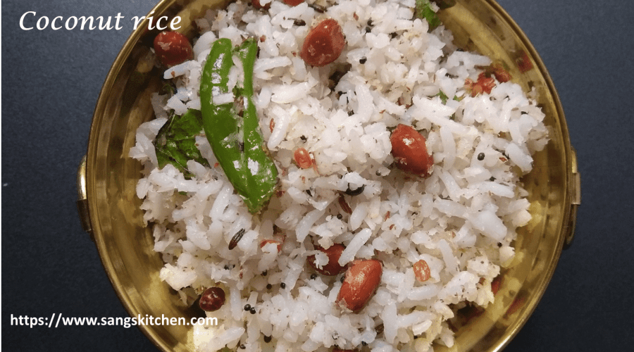 Coconut rice -feature