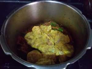 Hyderabad chicken biryani- mix