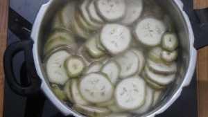 vazhakkairoast -boiled