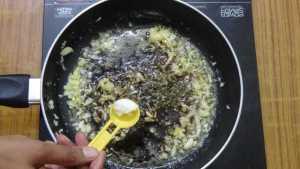 Garlic chicken roast -salt