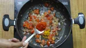 Potato gravy -chilli powder