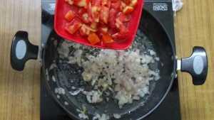 Veg kolhapuri -tomato
