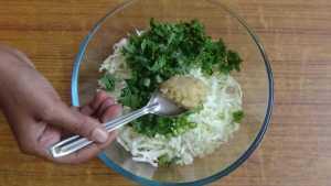 Cabbage pakoda -gg paste